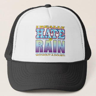 Rain Love Hate Trucker Hat
