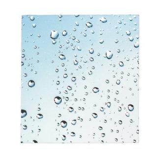 rain notepad