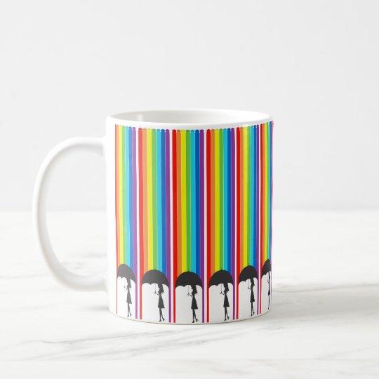 Rain of tinta coffee mug