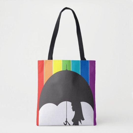 Rain of tinta tote bag