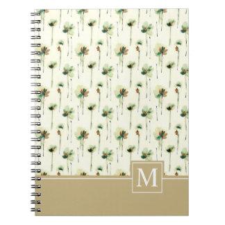 Rain of White Flowers    Notebook