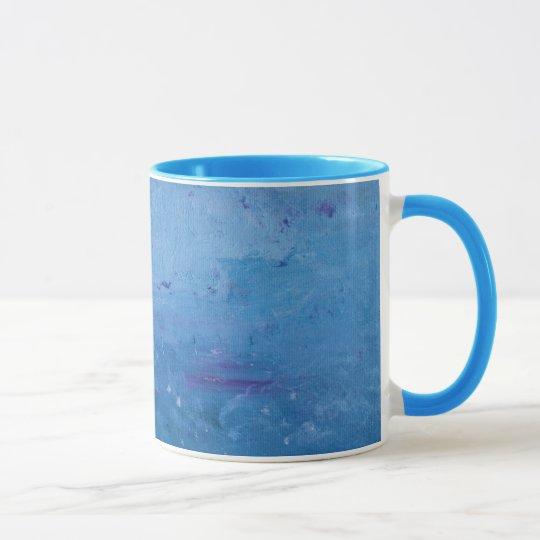 Rain on Lake Mug