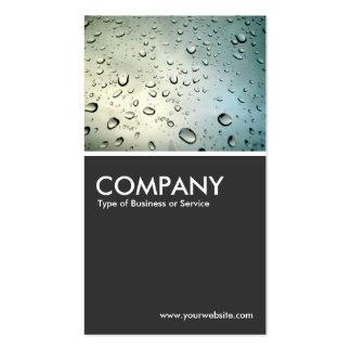 Rain on my Window - Dark Gray Business Card