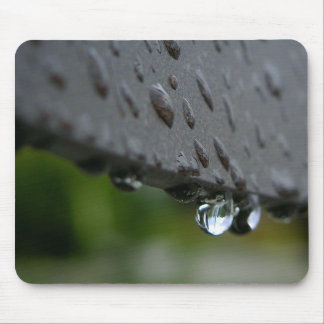 Rain Or Dew Drops Mouse Pads