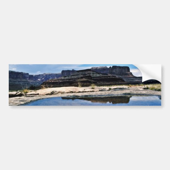 Rain Pool - Canyonlands National Park Bumper Sticker