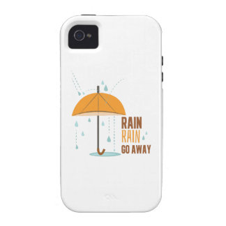 Rain Rain Go Away Vibe iPhone 4 Case