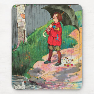 Rain, rain, go away, Come again another day Mouse Pad