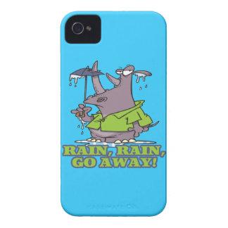 rain rain go away funny rhino april showers blues blackberry bold cover