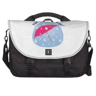 Rain Rain Go Away! Laptop Shoulder Bag
