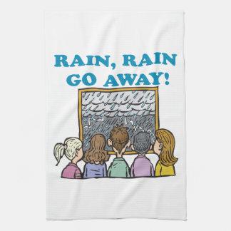Rain Rain Go Away Towels