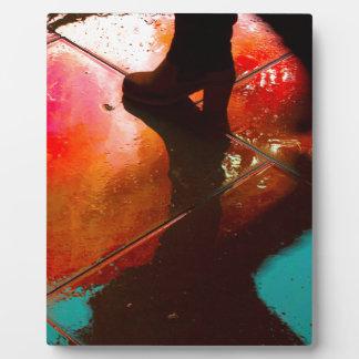 Rain Reflections Plaque