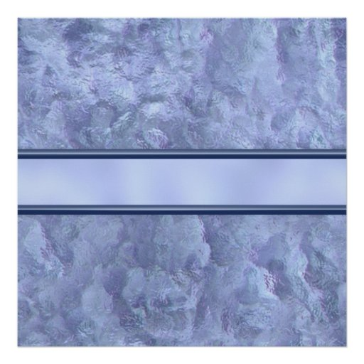 Rain Soaked Marble Poster