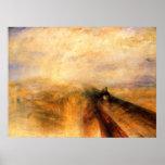 Rain, Steam, and Speed Canvas Print