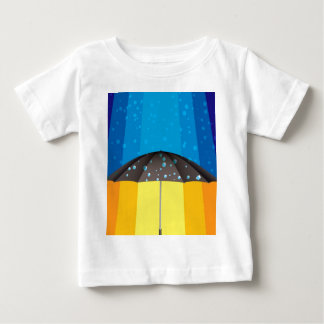 Rain storm on a sunny day baby T-Shirt