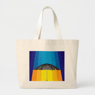 Rain storm on a sunny day bags