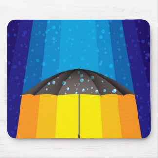 Rain storm on a sunny day mouse pad