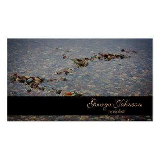 Rain Water Novelist Business Card