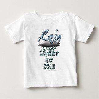 Rain waters my soul baby T-Shirt