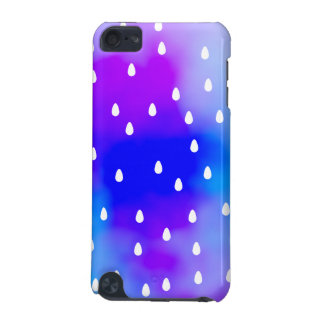Rain with blue and purple cloudy sky. iPod touch 5G cover