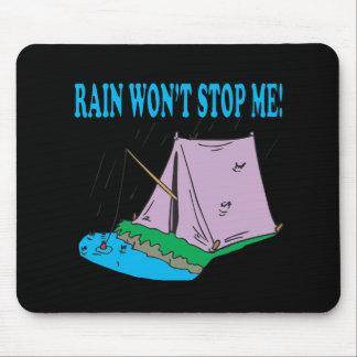 Rain Wont Stop Me Mouse Pad