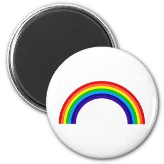 rainbow[1] 6 cm round magnet