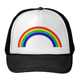 rainbow[1] trucker hat