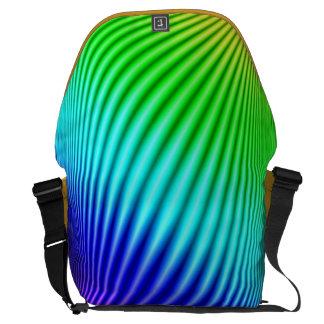 Rainbow 1 courier bag