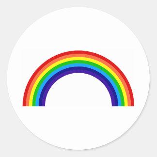 rainbow[1] round sticker