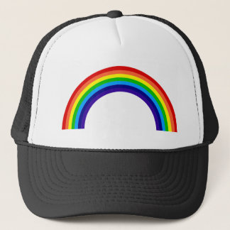 rainbow[1] trucker hat