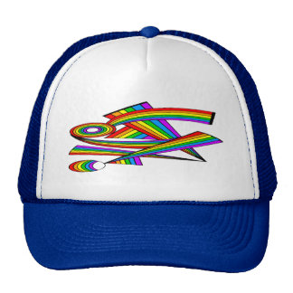 Rainbow # 3 Tattoo Cap