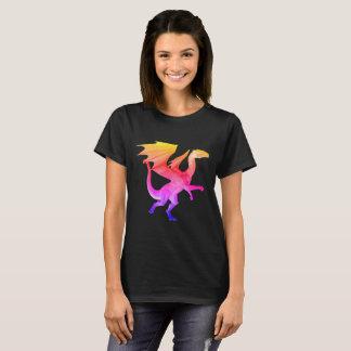 Rainbow 3D Dragon T-Shirt