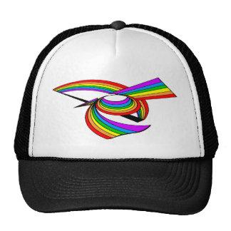 Rainbow # 5 Tattoo Cap