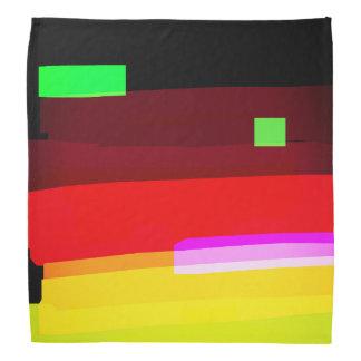 Rainbow Abstract Art Bandana