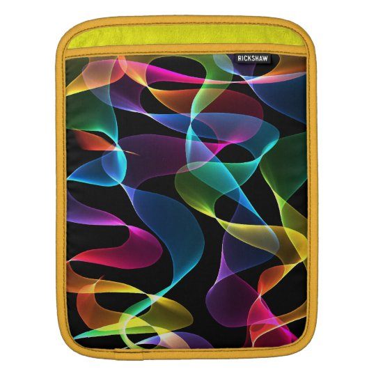 Rainbow Abstract colour sleeve Sleeves For iPads