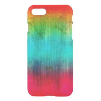 Rainbow Abstract Grunge iPhone 8/7 Case
