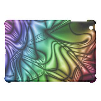 rainbow abstract ipad case