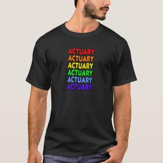 Rainbow Actuary T-Shirt
