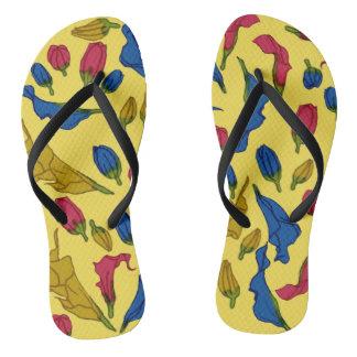 Rainbow Aethiopica Flip Flops