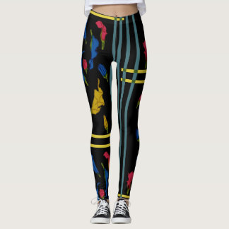 Rainbow Aethiopica Leggings