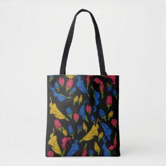 Rainbow Aethiopica Tote Bag