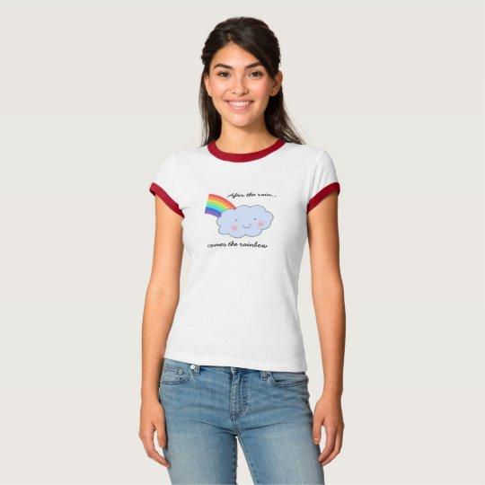 Rainbow After Rain Women's and Girl's T-Shirt