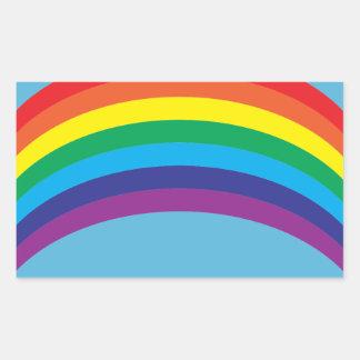 rainbow.ai rectangular sticker