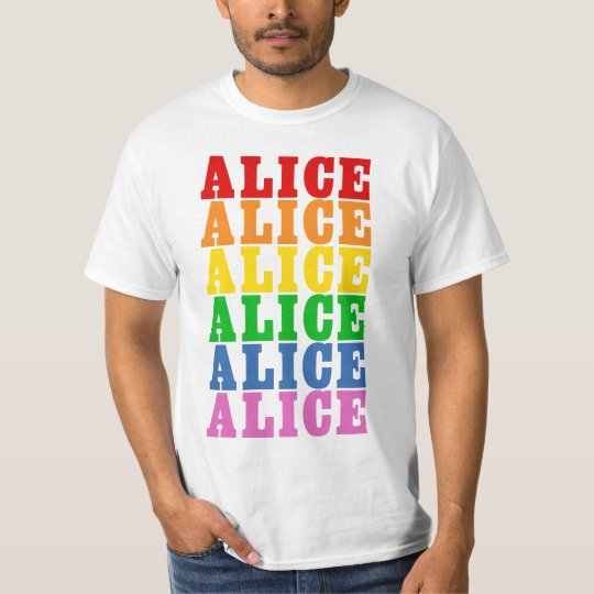 Rainbow Alice T-Shirt