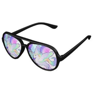 Rainbow Alicorn Aviator Sunglasses