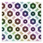 Rainbow Alien Eye Fractal Art Pattern