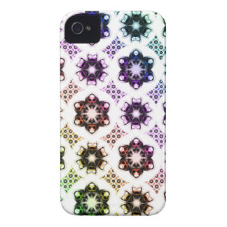 Rainbow Alien Eye Fractal Art Pattern Case-Mate iPhone 4 Case