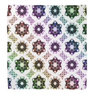 Rainbow Alien Eye Fractal Art Pattern Bandannas
