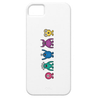 Rainbow Alien Monsters Barely There iPhone 5 Case