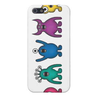 Rainbow Alien Monsters Case For The iPhone 5
