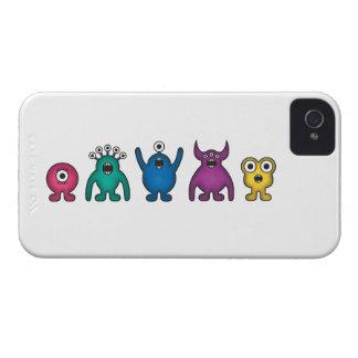 Rainbow Alien Monsters iPhone 4 Case
